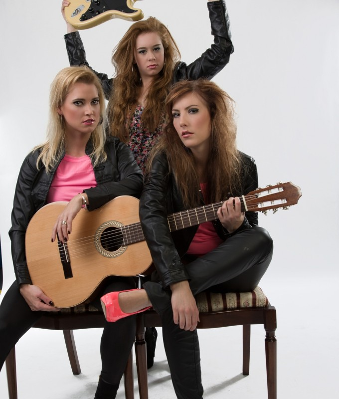 Thema Rock chicks Camille, Glynis en Marlies