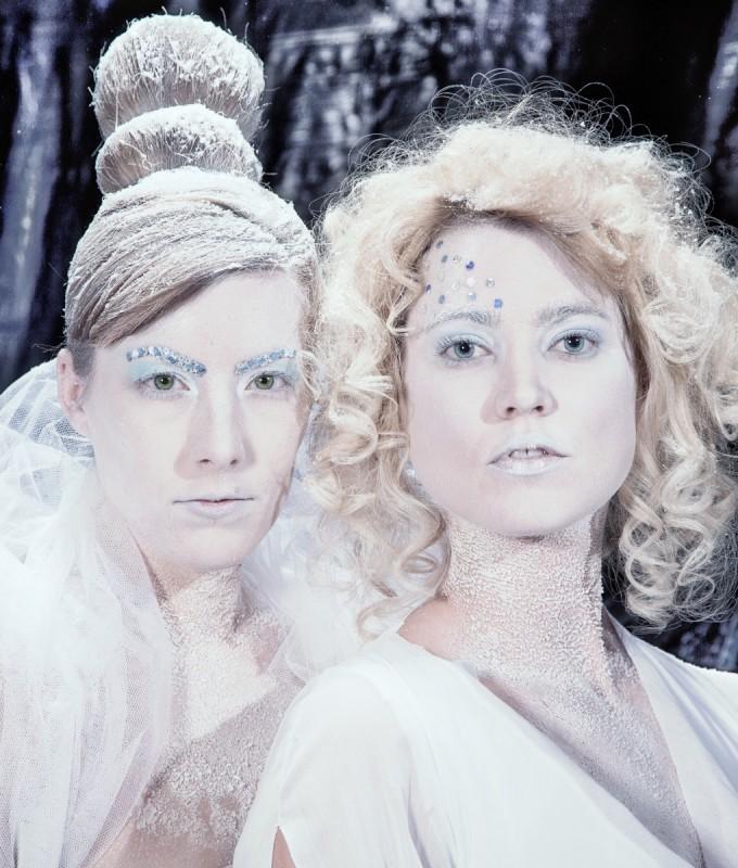 Ice Queen Glynis en Marlies