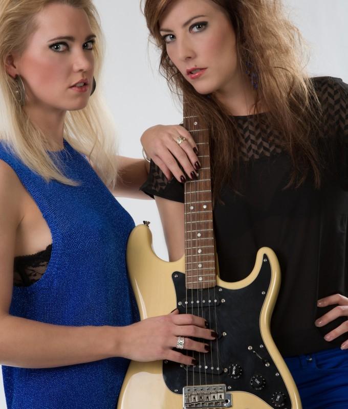 Thema Rock chicks  Glynis en Marlies