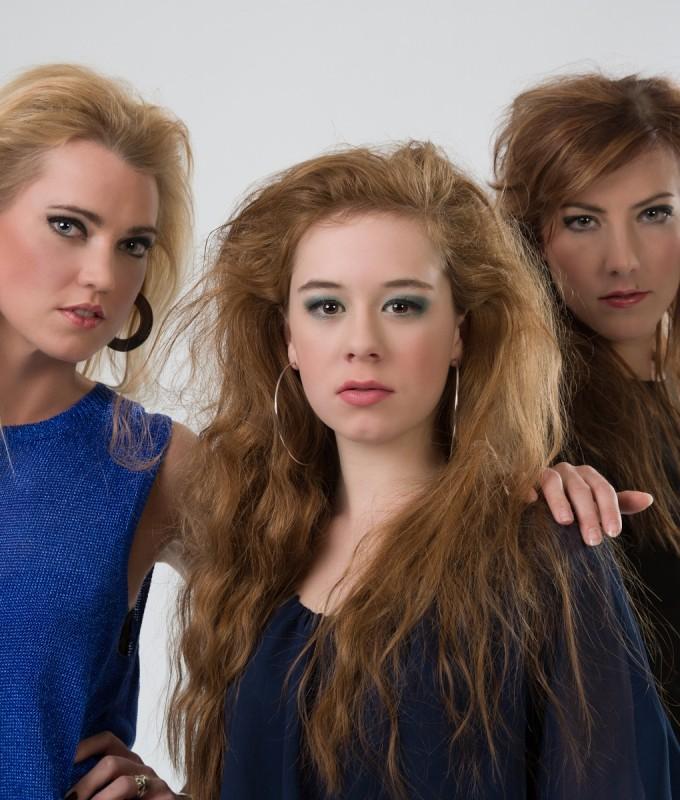 Thema Rock chicks Camille, Glynis en Marlies